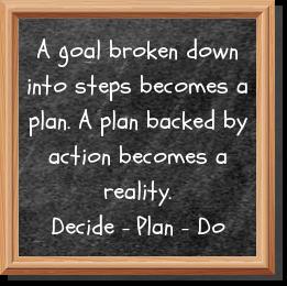 decide, plan, do
